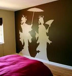 bedroom paint designs