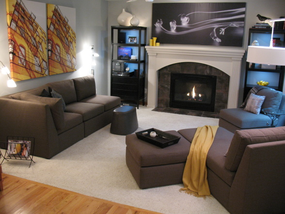 casual family room ideas