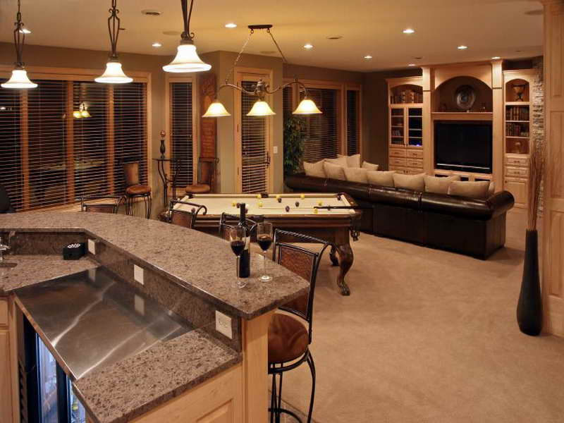 finishing a basement ideas