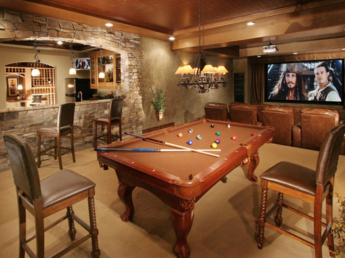 great basement ideas