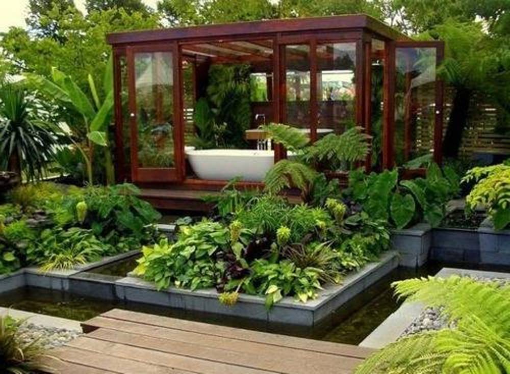 Home vegetable garden ideas home interior and furniture for Outdoor garden ideas house