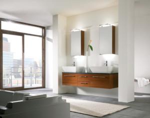 Modern bathroom light fixtures