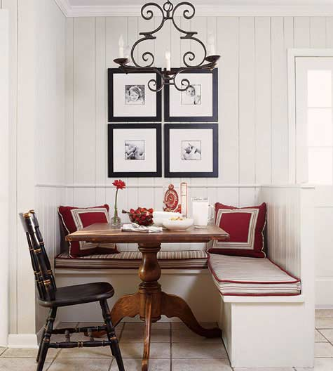 Small dining room ideas home interior and furniture ideas for Small dining room images