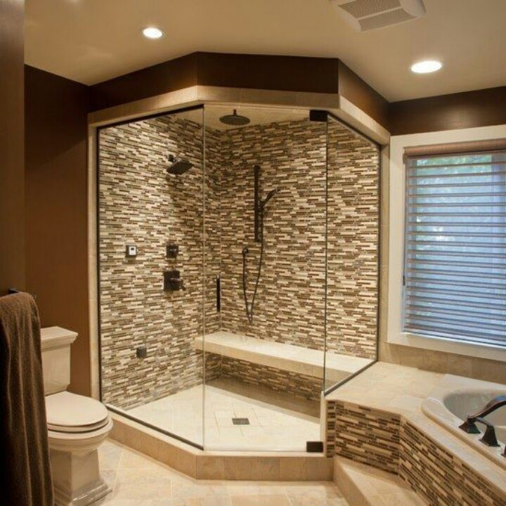 walk in shower tile ideas