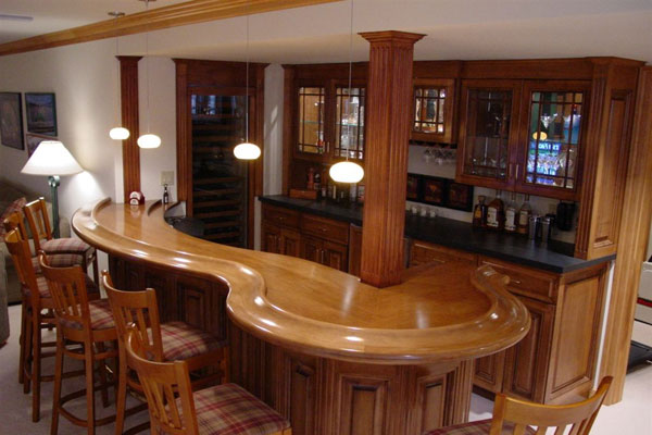 Basement lighting ideas home interior and furniture ideas Home bar furniture canada