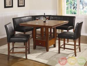 corner dining room sets