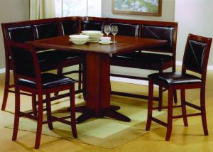 corner dining room table