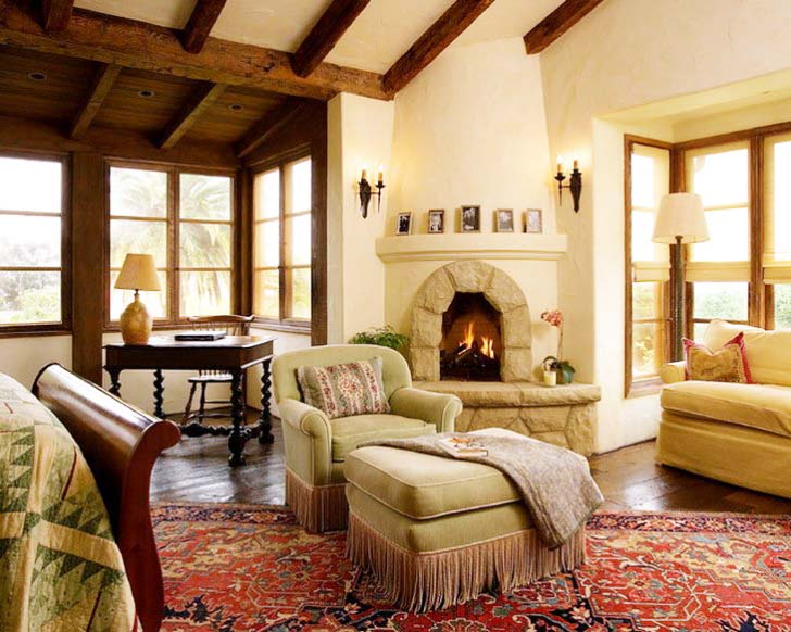 1000 images about fireplace on pinterest for Living room with corner fireplace