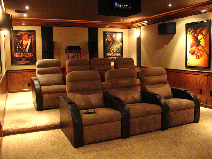 custom home theater rooms