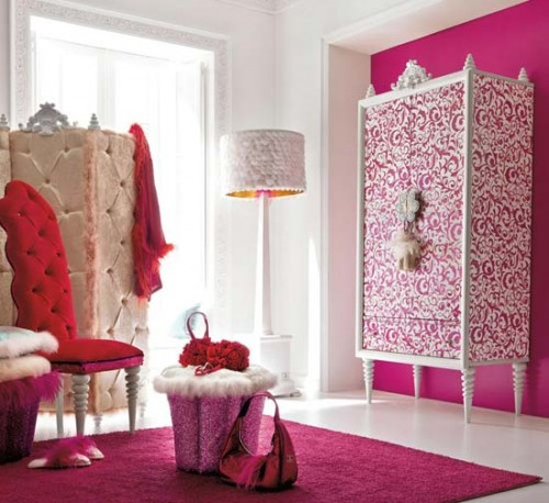 cute decorating ideas for a girls bedroom