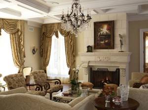 decorate living room pictures