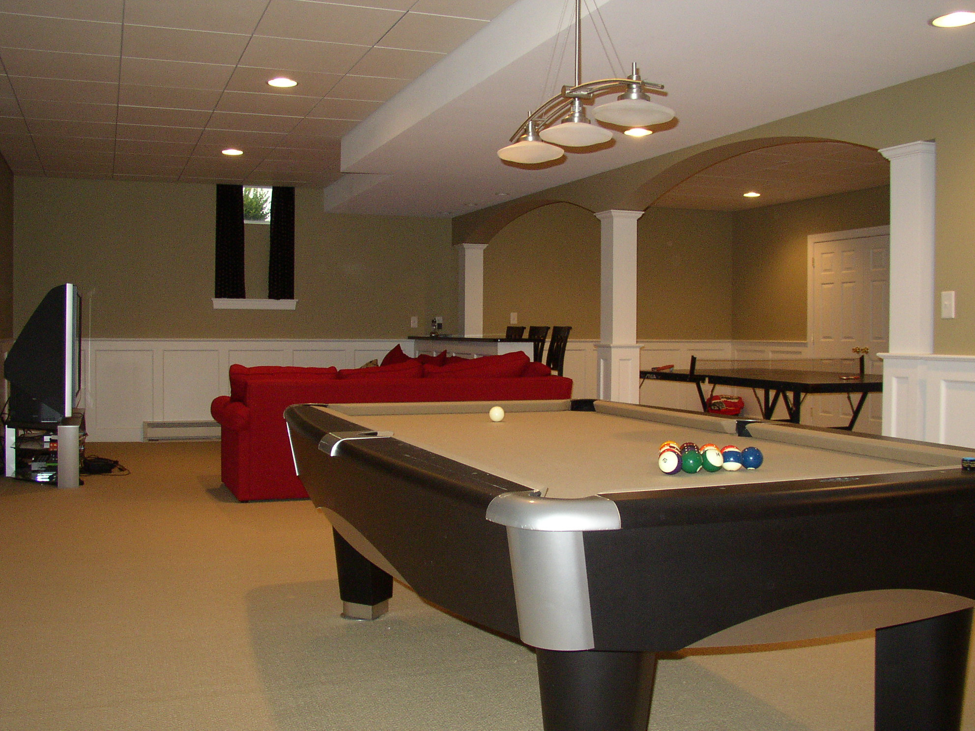 finished basement ideas