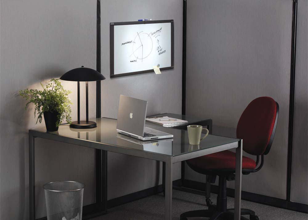 Office space decorating ideas home interior and for Home office makeover ideas