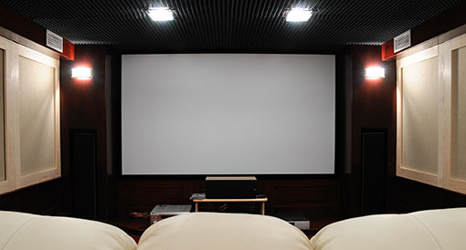 home theater screens