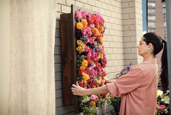 how to build a vertical garden