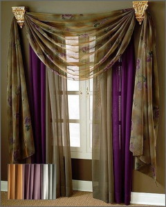 modern style curtains