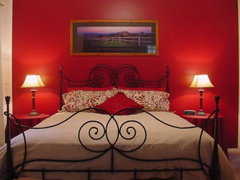 decor romantic bedroom colors