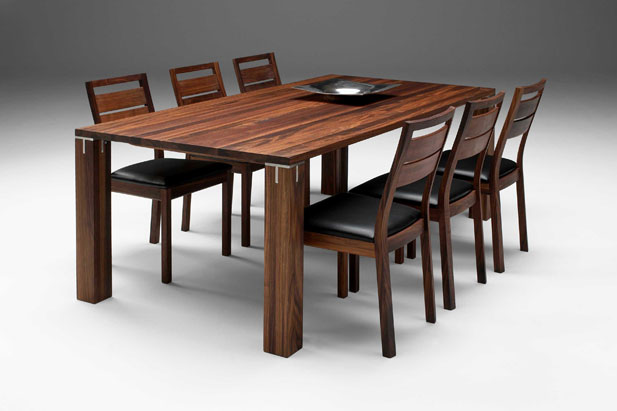 trestle dining table solid wood dining table