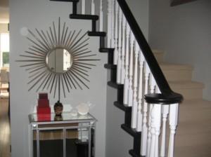 stair banister