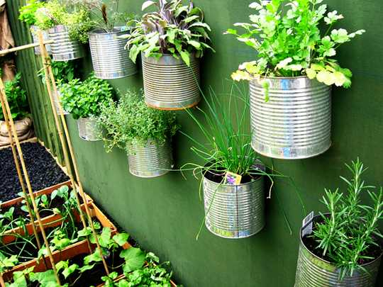 vertical garden diy
