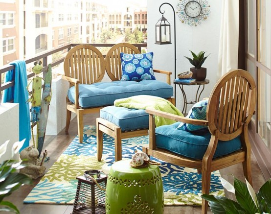 Prepare The Balcony For Summer Home Interior And