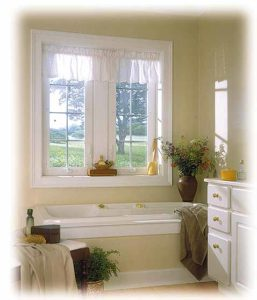 bathroom with window buy