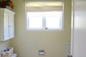 bathroom with window relax
