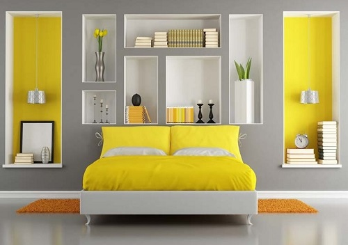 Grey schemes home interior and furniture ideas for Home decor color schemes grey