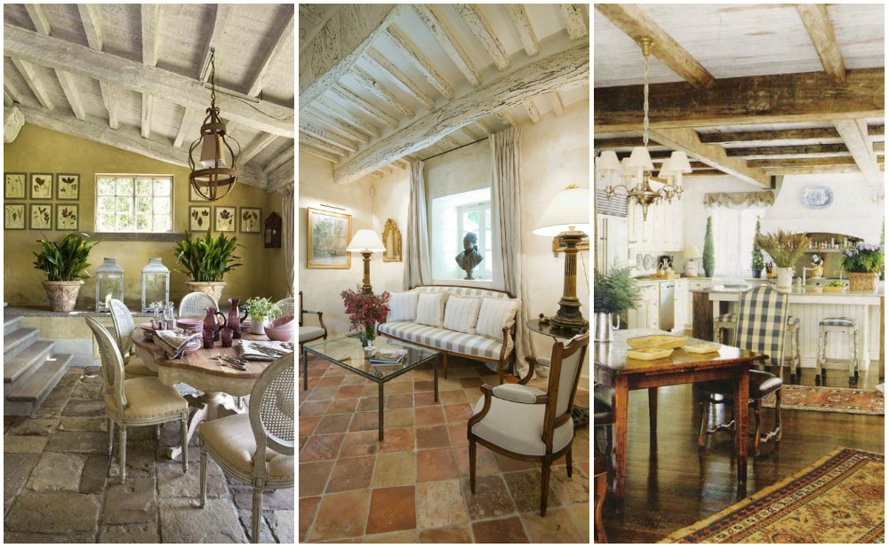 Provence style in interior design home interior and for Maison de provence decoration