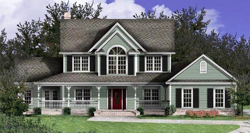 Simple country style home interior and furniture ideas for American country home designs