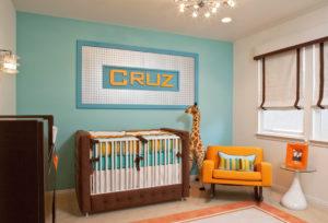 retro style nursery